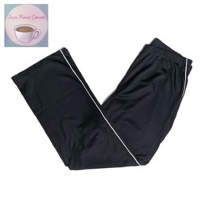 St. John's Bay Straight Leg Active Pants Black